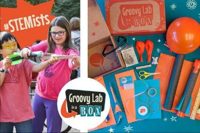 Groovy Lab in a Box STEM subscription box