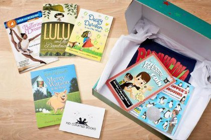 Kids Curated Books subscription box