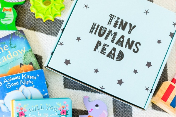 Tiny Humans Read book subscription box