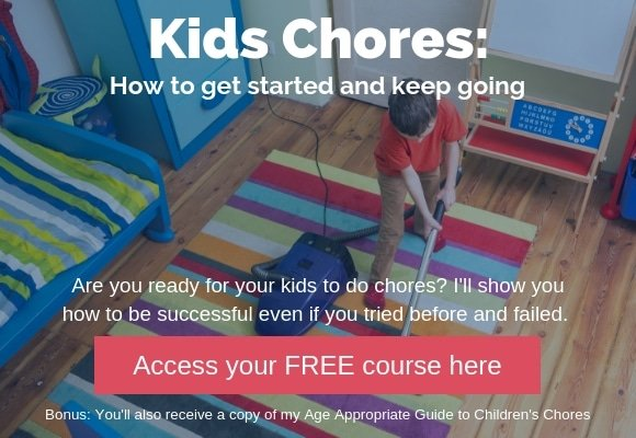 FREE Course: Learn How to be Successful With Kids Chores