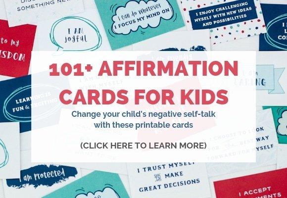 positive affirmations for kids