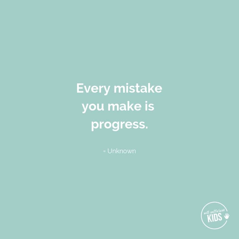 """Every mistake you make is progress."" - Unknown #growthmindset #growthmindsetquotes"