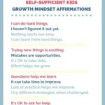 Growth Mindset Affirmations for Kids