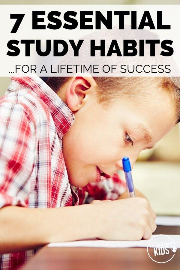 good study habits