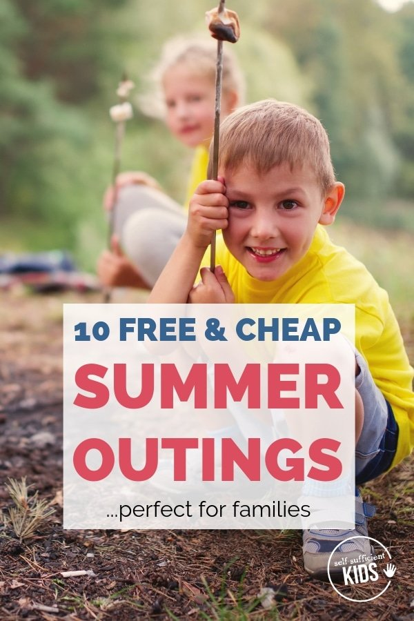 free and cheap summer outings for kids and families