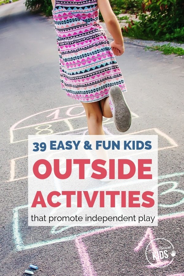 outside activities for kids summer