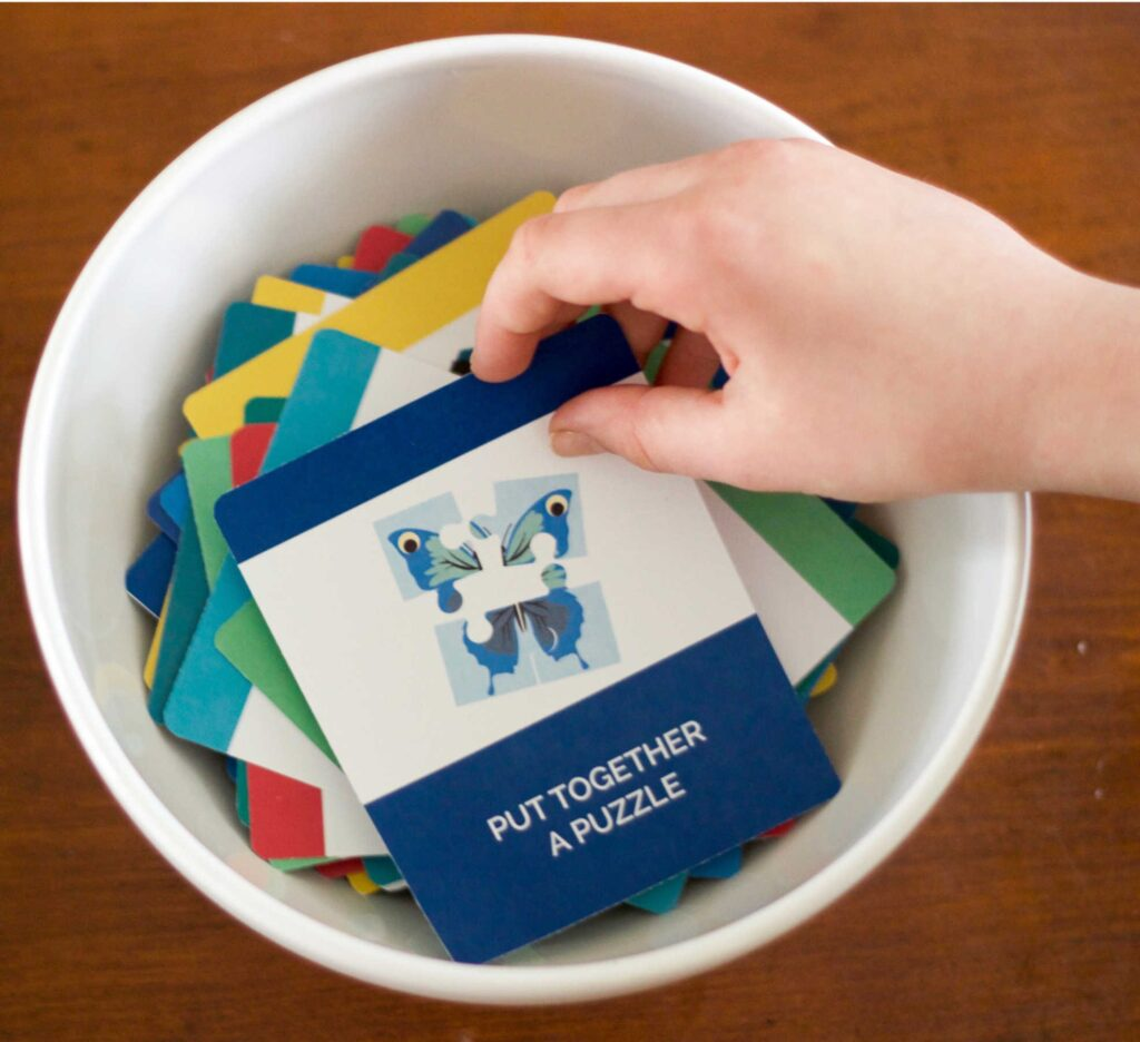 kids activities cards
