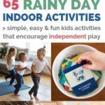 indoor activities for kids rainy day