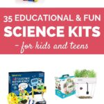 educational science kits for kids and teens