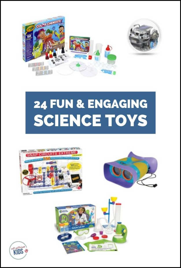 24 science toys for kids and teens