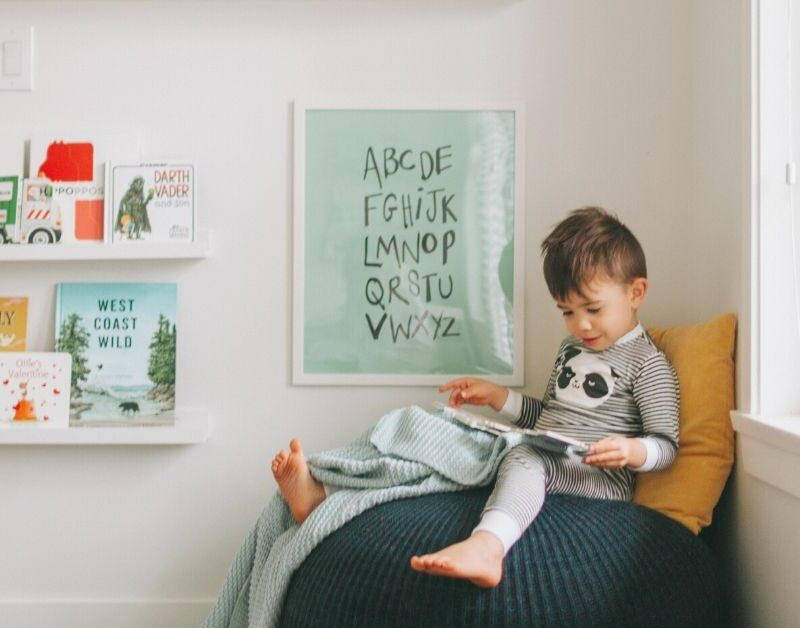 quiet time child's creativity