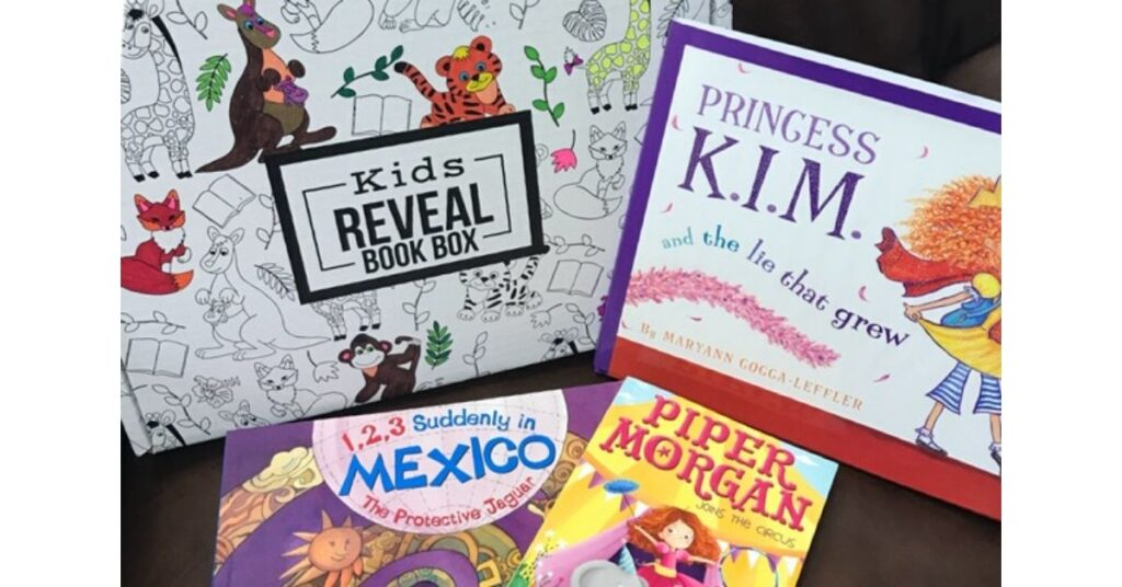 kids reveal book subscription boxes for toddlers