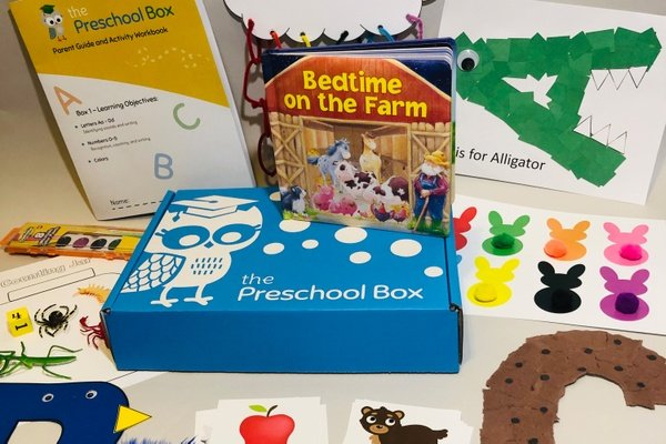 the preschool box subscription box