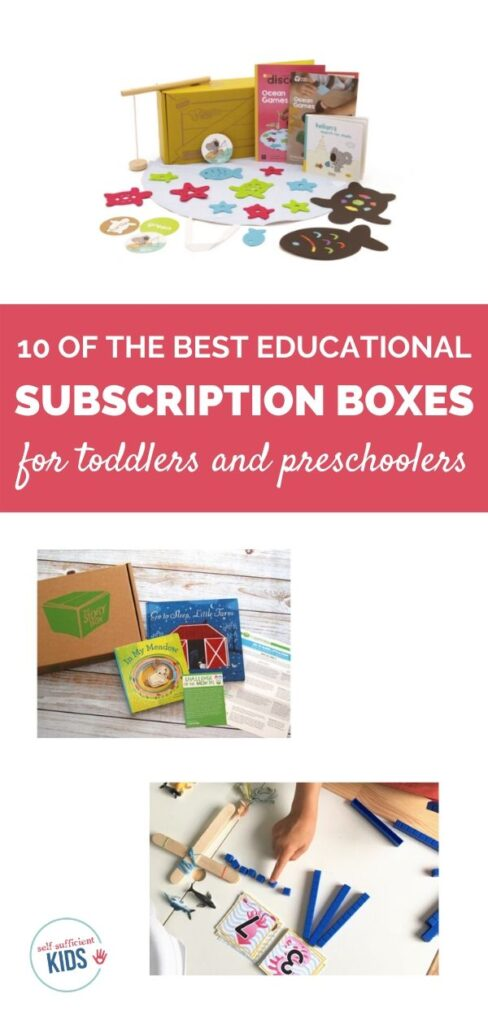 educational subscription boxes for toddlers