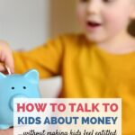 how parents can talk to their children about money