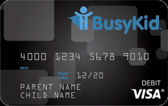 BusyKid Debit Card
