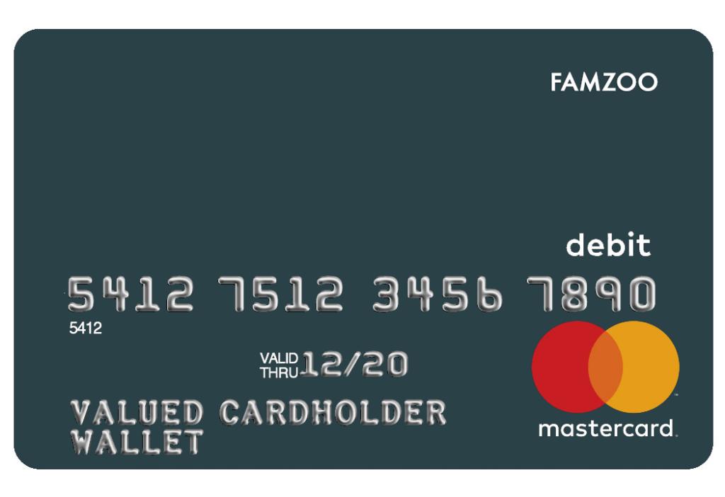 FamZoo kids debit card