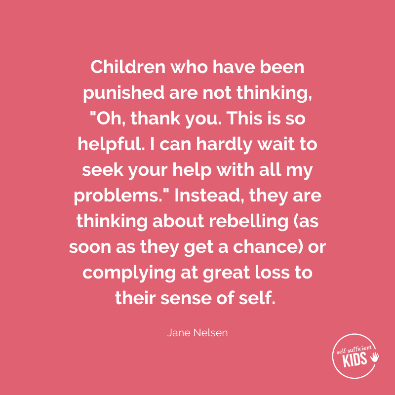 a parenting quote by Jane Nelsen